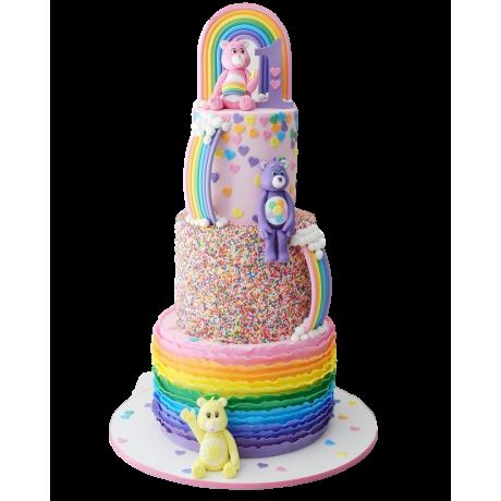 care bears cake 6