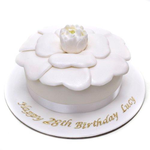 Chanel's Camellia flower Cake