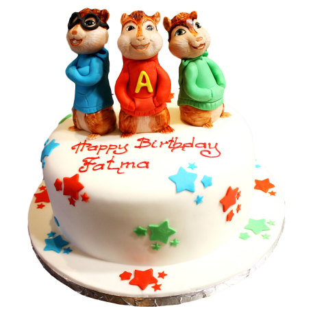 chipmunks cake 6