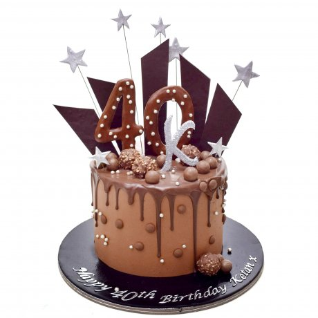Chocolate fantasy cake 6
