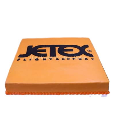 Company logo cake 2