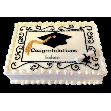 graduation cake 11 6