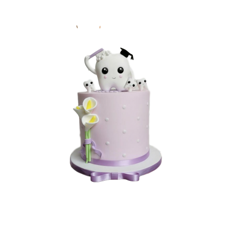 dentist graduation cake 2 6