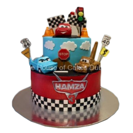 disney cars cake 3 6
