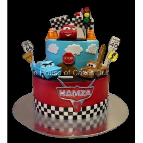 Disney cars cake 3