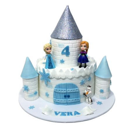 frozen castle cake 6