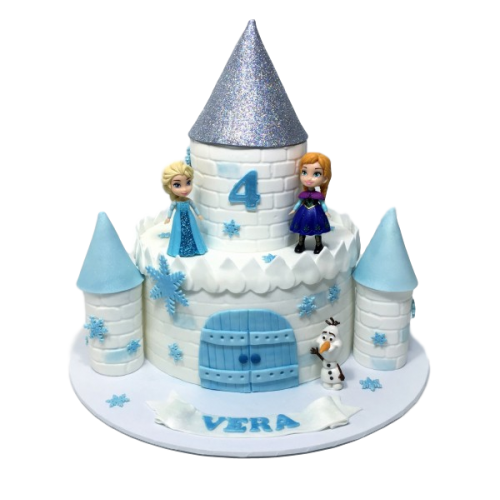 frozen castle cake 7