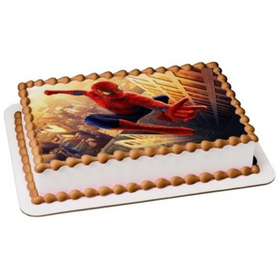 Spiderman Cake with photo 2