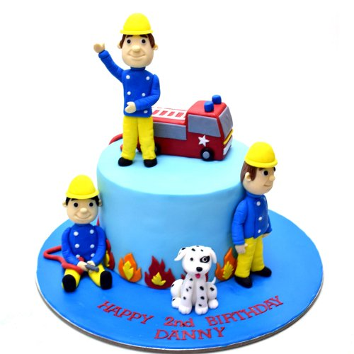 fireman sam cake 2 7