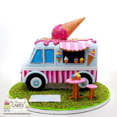 Food Truck Cake