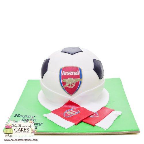 Arsenal cake 4
