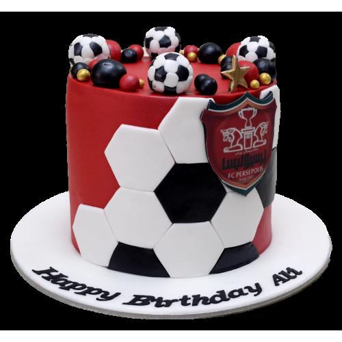 Football theme cake 7
