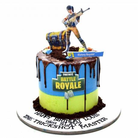 fortnite cake 10 6