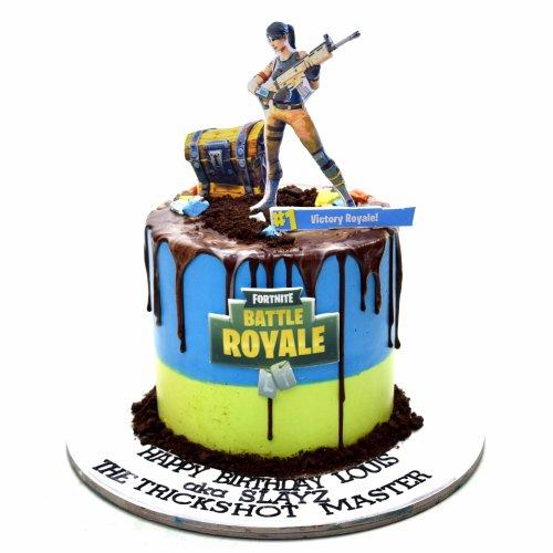 fortnite cake 10 7