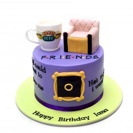 friends cake 3 6