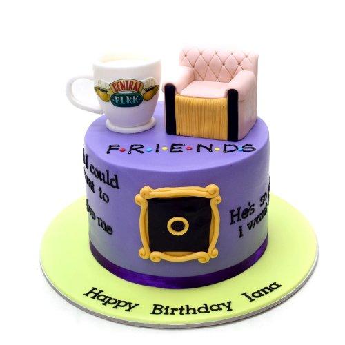 friends cake 3 7