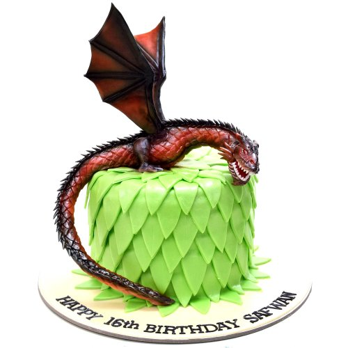 Game of thrones dragon cake 8