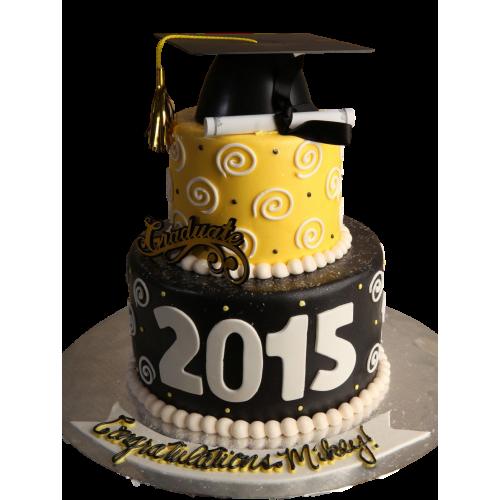 graduation cake 12 7