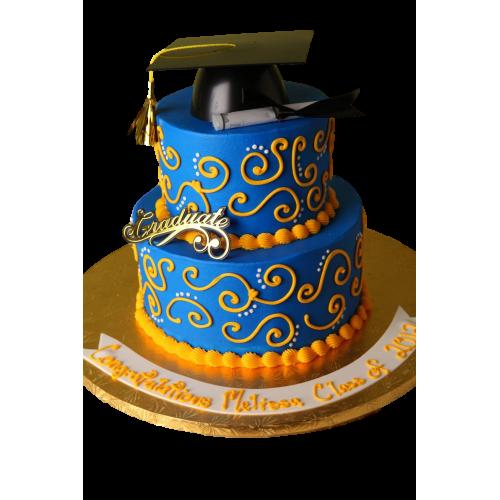 graduation cake 2 7