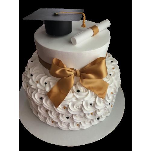 graduation cake 22 7