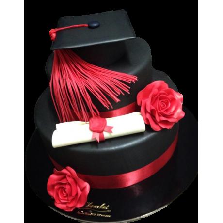 Graduation cake 26