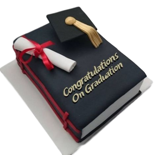 Graduation cake 38