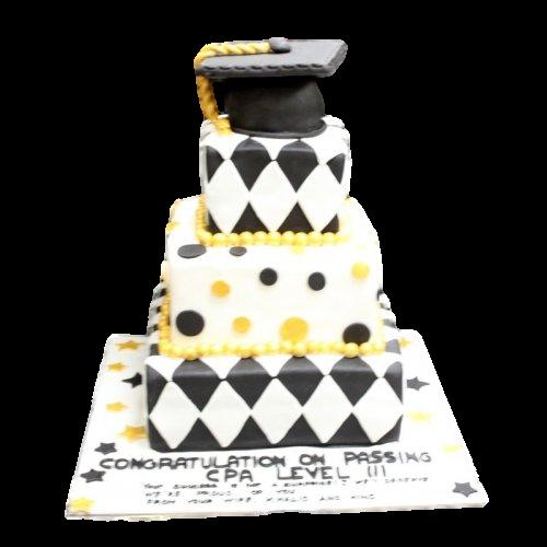 graduation cake 35 7
