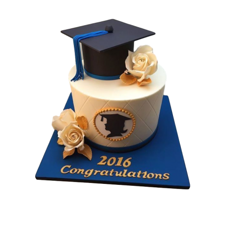 graduation cake 5 6