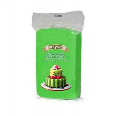 Vizyon Green Sugar paste - fondant - 1 kg