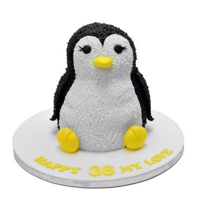 Penguin Cake 6