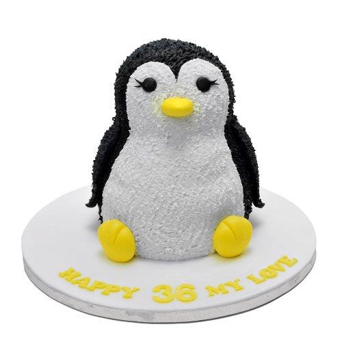 penguin cake 6 7