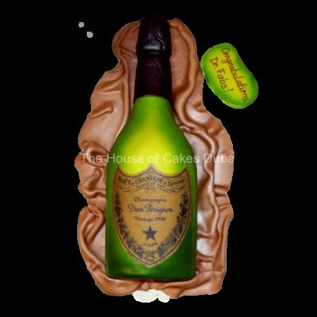 champagne dom perignon cake 6