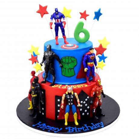 avengers cake 4 6