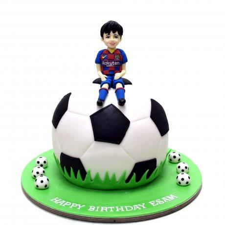 Barcelona cake 6
