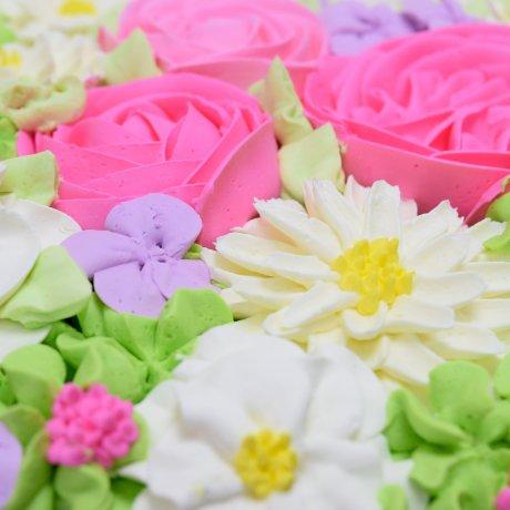 buttercream flowers cake 3 7