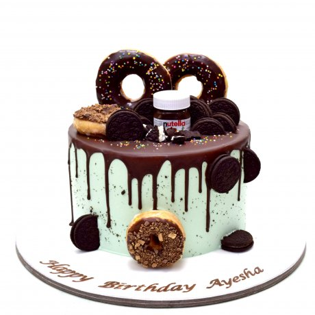 cake with doughnuts 1 6