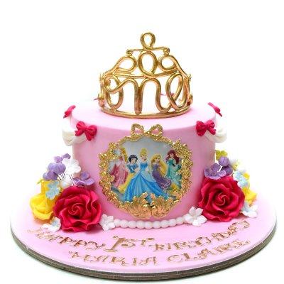Disney Princesses Cake 27
