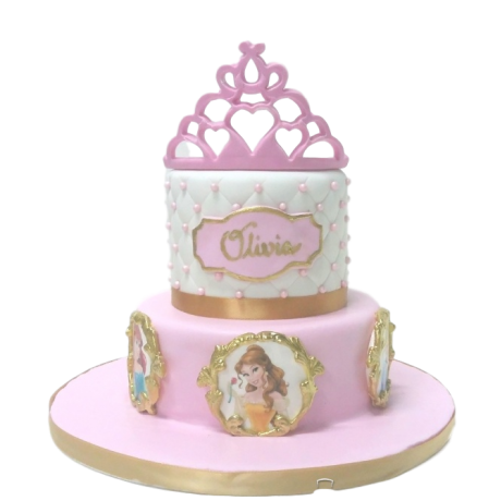 disney princesses cake 25 6