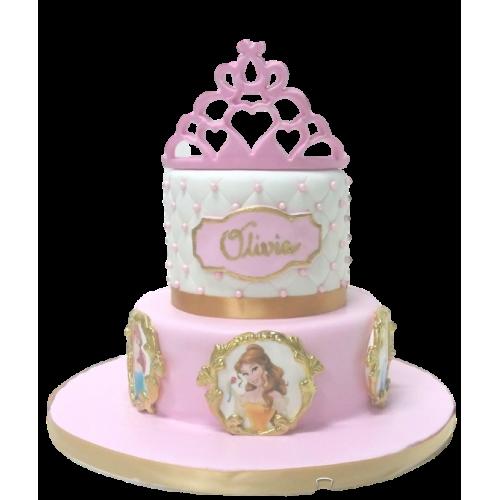 disney princesses cake 25 7