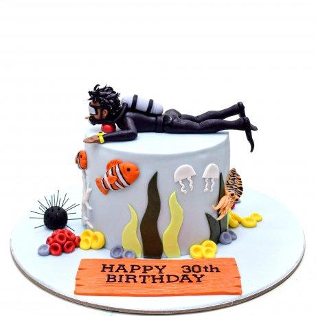 diver cake 5 6