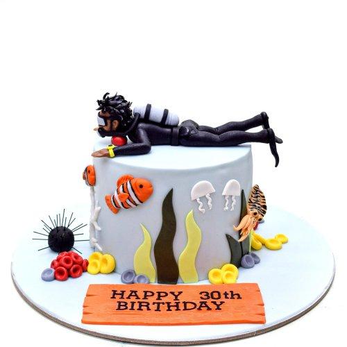 diver cake 5 7