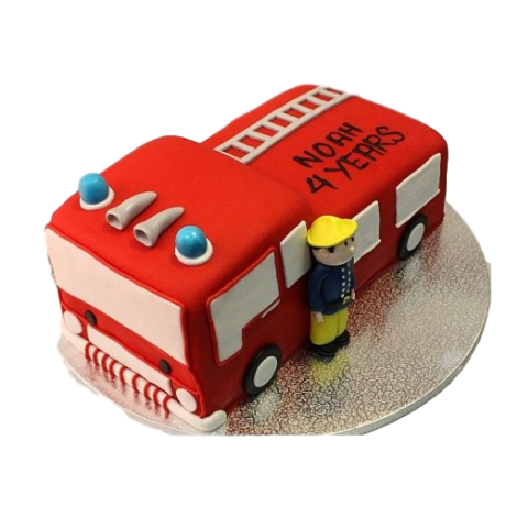 fireman sam cake 6