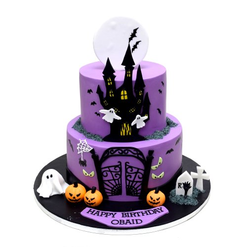 Halloween Cake 9