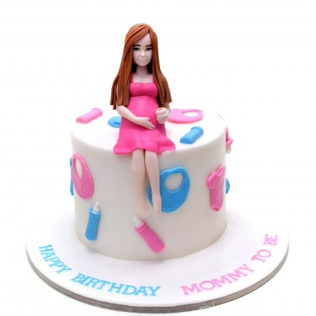 mom to be cake 6