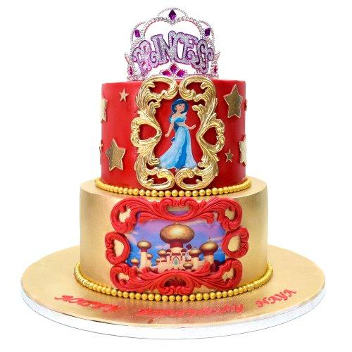 Princess Jasmine Cake 1