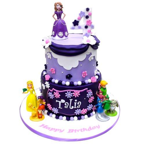 princess sofia cake 7 8