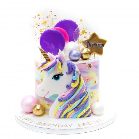 unicorn cake 40 12