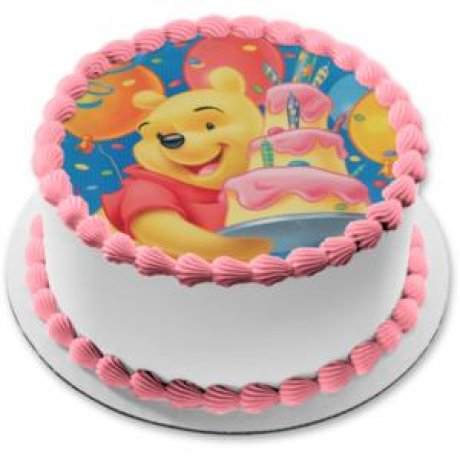 winnie the pooh photo cake 1 6