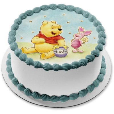 Winnie The Pooh Cake with photo 5