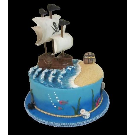 pirate ship cake 7 12
